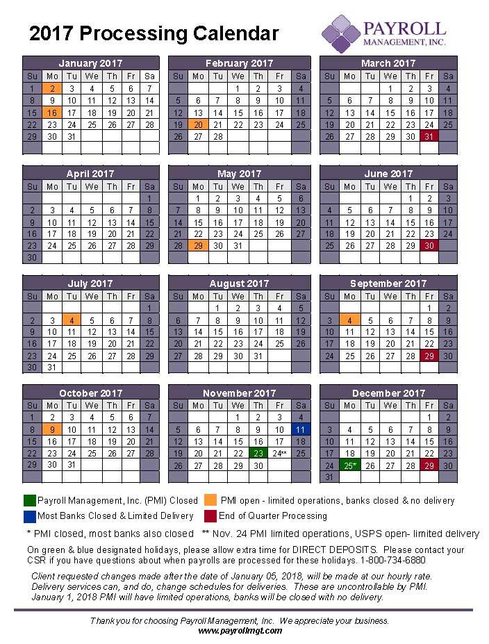 2017-payroll-processing-calendar