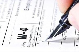 IRS Form W-4