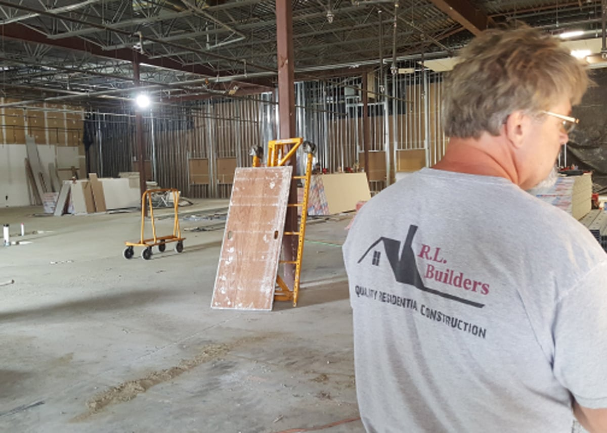 Our trusted and awesome general contractor R.L. Builders!