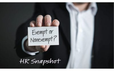 How Do I Determine if a Position is Exempt or Non-Exempt?