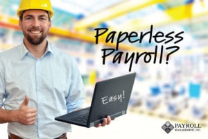 paperless payroll