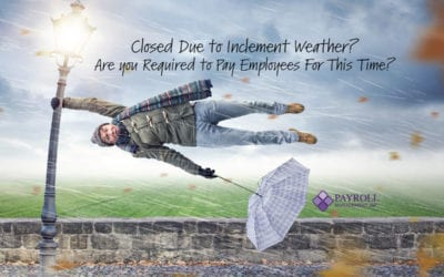 Closing For Inclement Weather? Are You Required To Pay Employees For This Time?