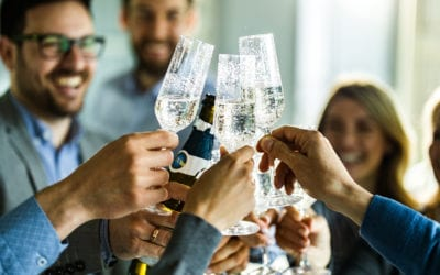 I've heard serving alcohol at company parties can be a liability. What steps can we take to protect our organization and our employees?